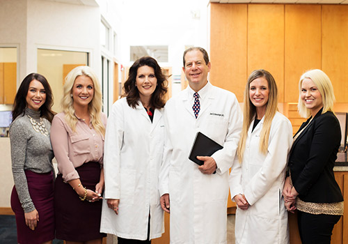 Dr. Joel Schlessinger and staff